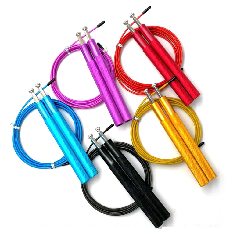 Adjustable Jump Rope Crossfit Fitnesss Jump Rope