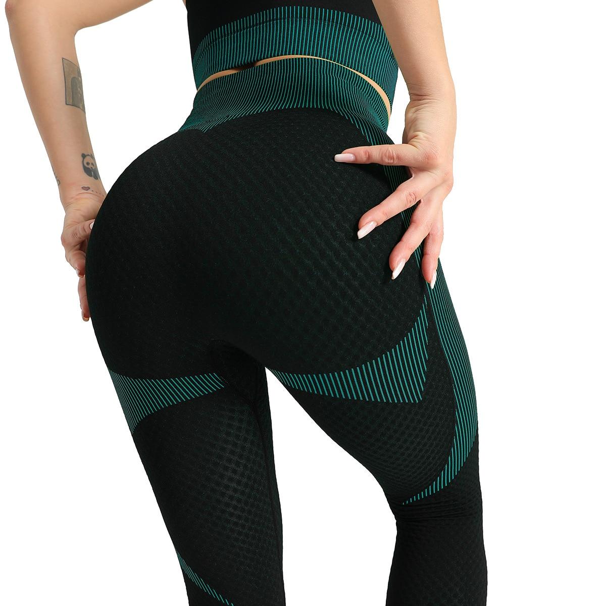Women Long Sleeve Patchwork Yoga Set