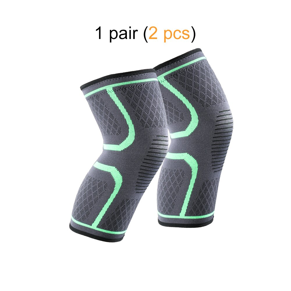 2PC Sports Fitness Running Cycling Knee Compression Pad