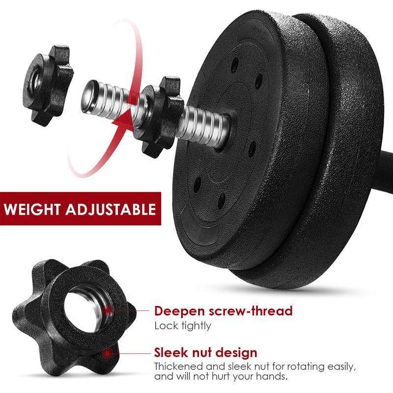 Adjustable 30kg Dumbbell Set