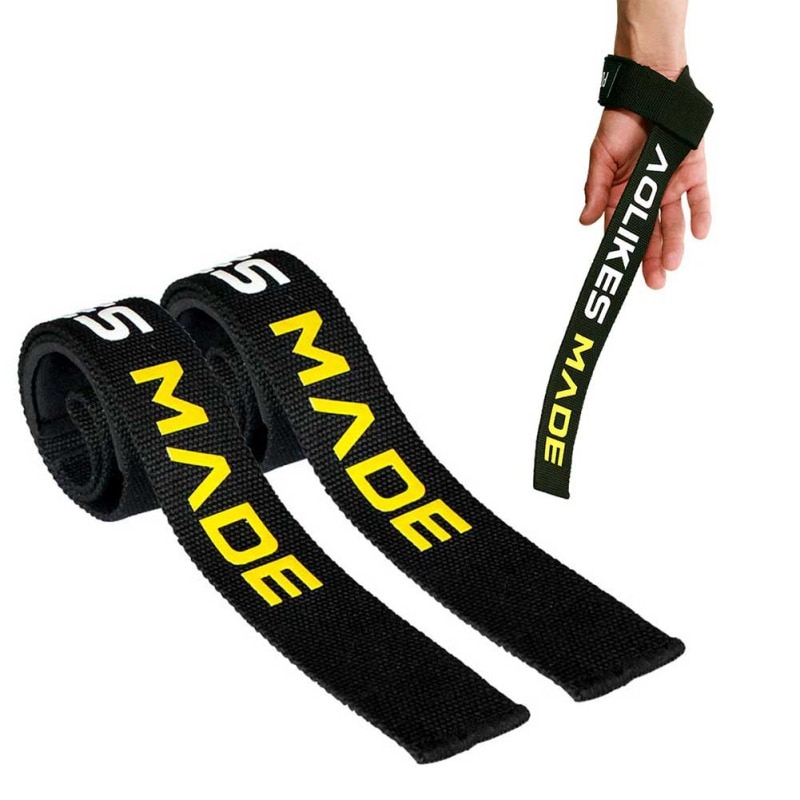 2pcs Weight Lifting Hand Wrist Belt Support Strap