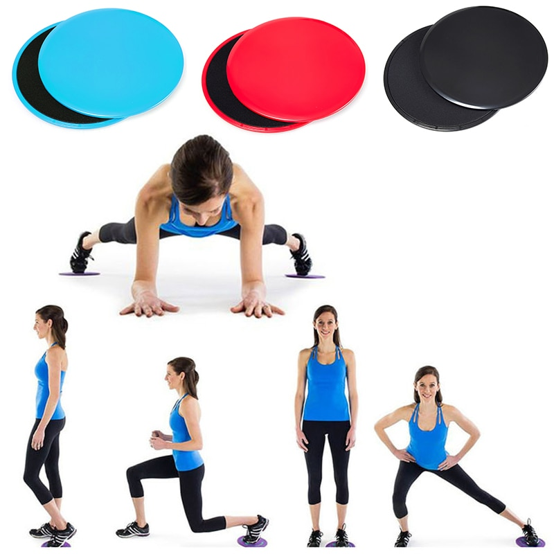 2PCS Exercise Sliding Plate