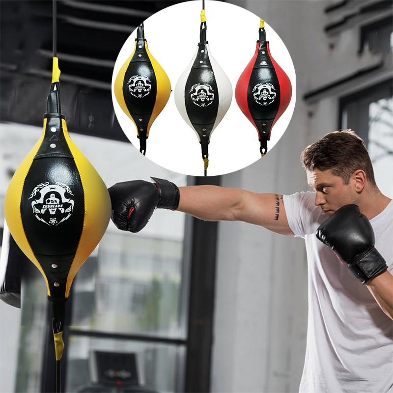 Thai Double End Boxing Speed Punching Bag