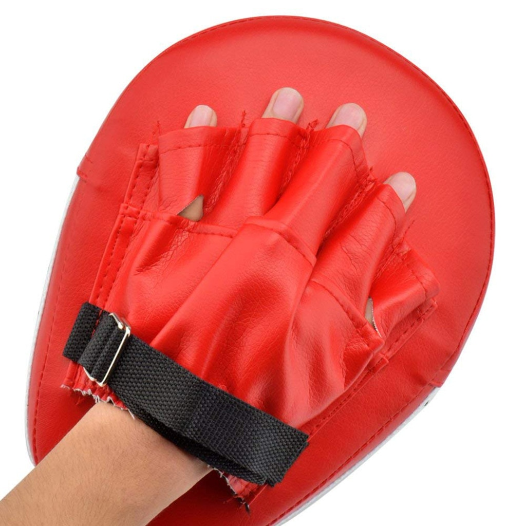 2pcs Boxing Punch Training Mitts Gloves